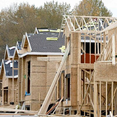 The average single-family detached new home in B.C. is 2,500 square feet, compared to the Canadian average of 2,000.