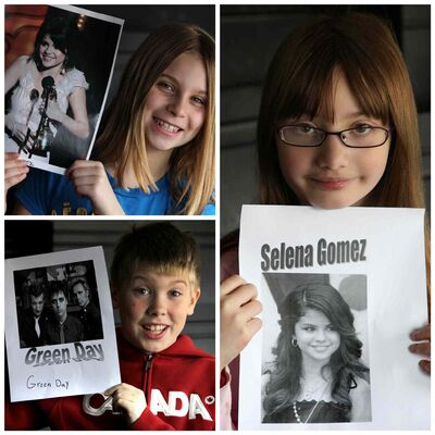 Clockwise from top left: Mackenzie, Juliana and Liam. (Ruth Bonneville / Winnipeg Free Press)