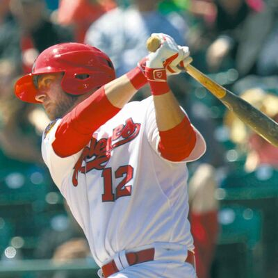Goldeyes first baseman Casey Haerther was an obvious all-star selection.