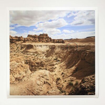 Constructions (from top) are dramatic landscape photos that are viewed with old-school 3D glasses.</p>