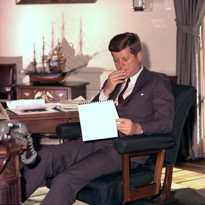 It is no myth that Kennedy radiated youth and the untarnished idealism that goes with it