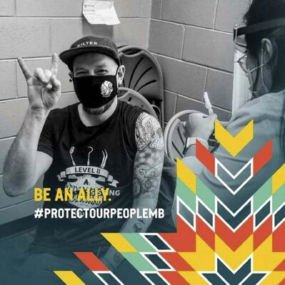 PROTECTOURPEOPLEMB / INSTAGRAM</p><p>The Protect Our People MB campaign has officially launched to encourage vaccine confidence and uptake among young First Nation people throughout the province.</p>