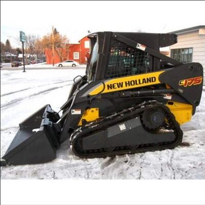 A truck, trailer and skid-steer (seen above) worth upwards of $80,000 were stolen from Hillside Construction in Steinbach over the long weekend.
