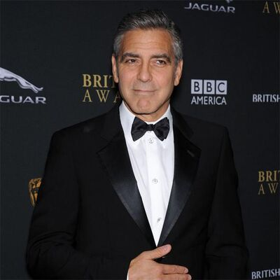 George Clooney decided to fight back against reports his mother-in-law to be is against his impending marriage.