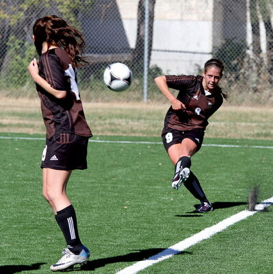 Julie Lafreniere captained the U of M women's soccer team for three seasons, and will be playing for Canada at the World University Games in Russia.