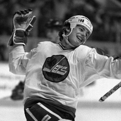 Only two players in NHL history have scored more goals as a teen than Laine's 80; fellow Winnipeg Jet Dale Hawerchuk (pictured) with 85, and Jimmy Carson with 92 for the Los Angeles Kings. (Ken Gigliotti / Winnipeg Free Press files)