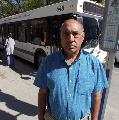 BORIS MINKEVICH / WINNIPEG FREE PRESS files</p><p>Aleem Chaudhary, president of Amalgamated Transit Union Local 1505</p></p>