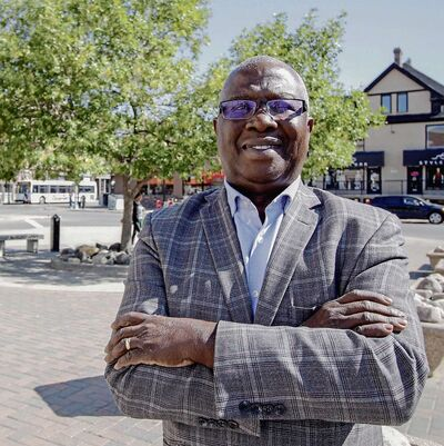 Peter Koroma is running for city council in the Fort Rouge-East Fort Garry ward.