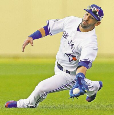 Can Blue Jays' big bopper Jose Bautista post similar numbers after undergoing wrist surgery?