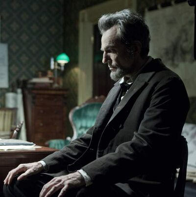 """Daniel Day-Lewis stars in the film """"Lincoln,"""" which uses real sounds from items and places that were part of Abraham Lincoln's life."""