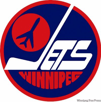Winnipeg Jets puck logo