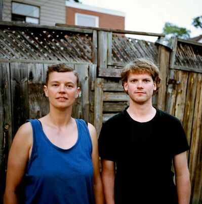 Drummer Leigh Dotel, left, and guitarist Aaron Mangle of Cousins.
