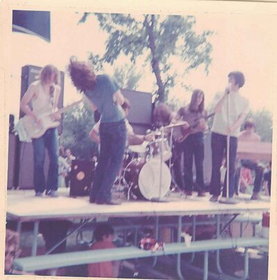 Pig Iron performs at the Love-In festival at Assiniboine Park in June 1970.