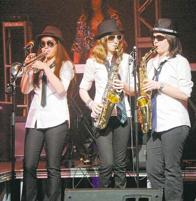Horn players from 2011�s Hotel California.