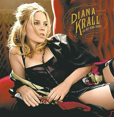 "This CD cover image released by Verve shows the latest release by Diana Krall, ""Glad Rag Doll."" (AP Photo/Verve)"