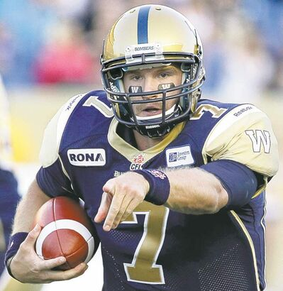 Alex Brink gets his shot at the  Alouettes Friday.