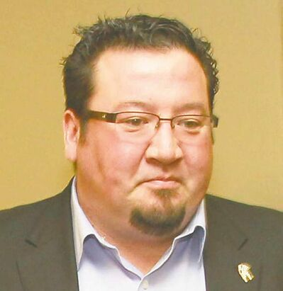 Manitoba Grand Chief Derek Nepinak