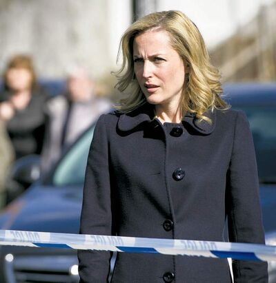 The fall brings Gillian Anderson (left photo) back to TV in her first series lead role since The X-Files.