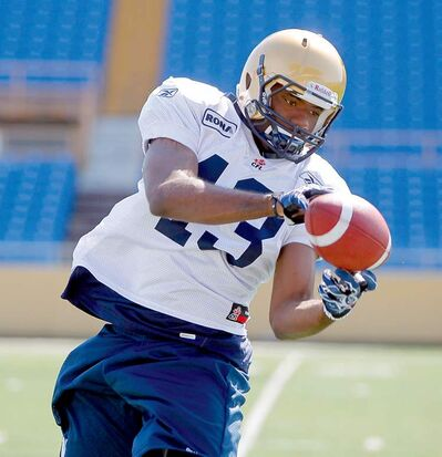 The Bombers' big rookie receiver Chris Matthews.
