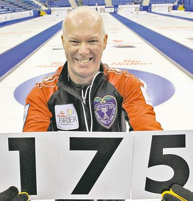 michael burns photoGlenn Howard broke his brother Russ�s record of most Brier games played.