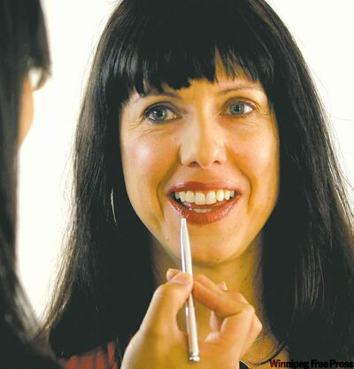 After a certain age, makeup should be an enhancer, Carolin Vesely has been told.