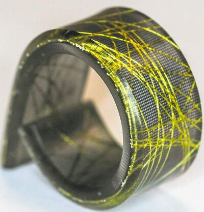 Resin ring by Dconstruct
