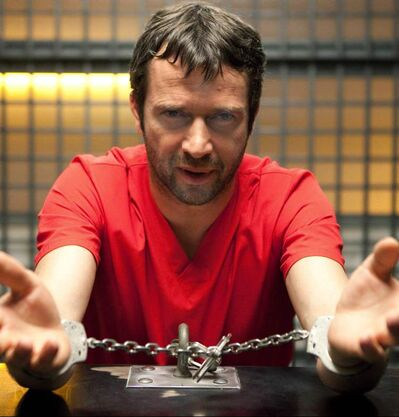 "James Purefoy in ""The Following,"" on FOX."