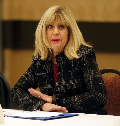 PHIL HOSSACK / WINNIPEG FREE PRESS FILES</p><p>Sustainable Development Minister Cathy Cox says biologists decided which lakes would be stocked. She said her department may not have done enough to keep the sport fishing industry in the loop.</p>