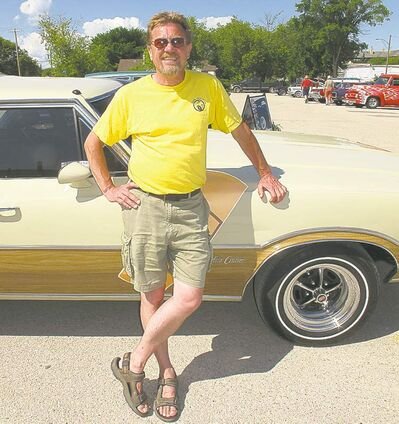 Gimli Car Club president John Hykawy was quick to thank all the volunteers and participants who made this year�s show a raging success.