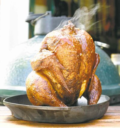 Photo by Jean Levac/ Ottawa CitizenAll that�s required for delicious whole chicken is salt, pepper and  a hot grill.
