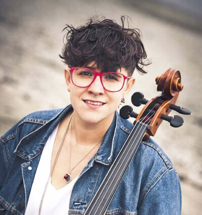 SUPPLIED</p><p>Cree composer Cris Derksen's chamber piece White Man's Cattle will be heard on Monday.</p>