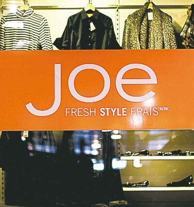 Joe Fresh: chic clothing competition