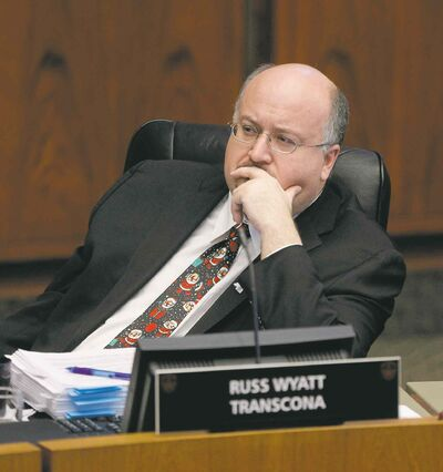 Coun. Russ Wyatt: wants more, not fewer, reports