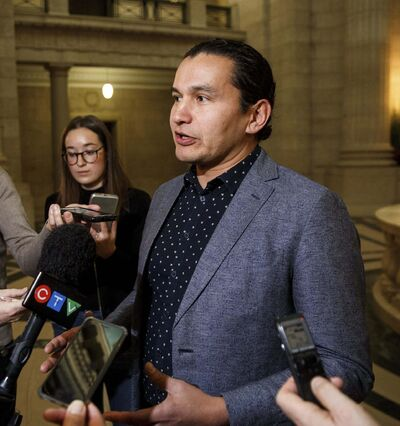 MIKE DEAL / WINNIPEG FREE PRESS FILES</p><p>NDP Leader Wab Kinew said he's already been hearing from women who are interested in running for office but are worrying about fundraising. </p>