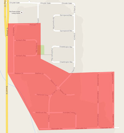 Manitoba Hydro has said a planned power outage will take place between 1 p.m. and 2 p.m. on Thursday in the Southland Estates area of Steinbach.