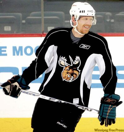 Moose captain Mike Keane may be 43, but his passion for the game burns as hot as ever. The leadership he brings the team, from his smart, no-nonsense toughness to his unshakable work ethic, would pay dividends in 2010-11.