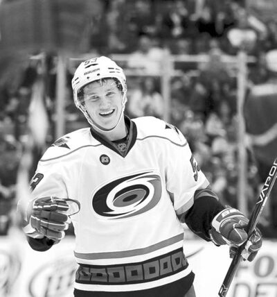 Carlos Osorio / the associated press archivesCarolina Hurricanes� Jeff Skinner, a former Calder Trophy winner, is back in the AHL due to lockout.