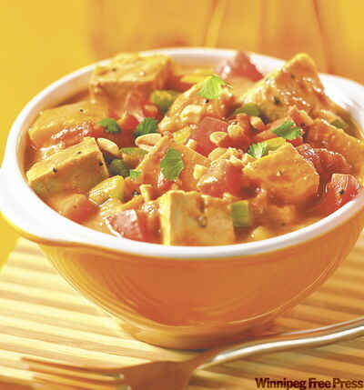 Spicy peanut stew