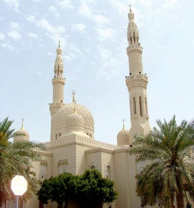 A mosque built in Dubai in 1979 is considered old.