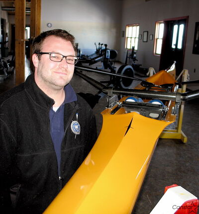 Brent Figg is making himself at home at the Winnipeg Rowing Club, where he has taken over as director of coaching.