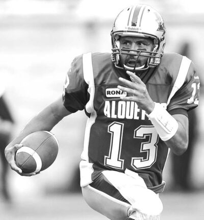 Alouettes quarterback Anthony Calvillo, 40, had off-season surgery on his left shoulder.
