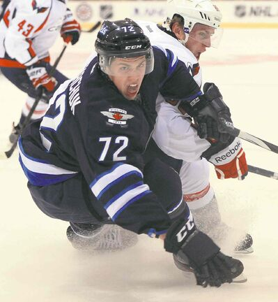 Scott Kosmachuk is on a goal-a-game pace during a torrid start to the 2013-14 season.