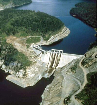 Handout</p><p>Hydro Quebec's LG-2 generating station, a key cog in the James Bay hydroelectric project.</p>