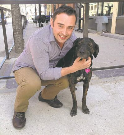 DOUG SPEIRS / WINNIPEG FREE PRESSJarod Miller warns owners to check their pets carefully for ticks.