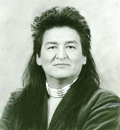 Shingoose in a publicity photo from the 1980s.</p></p>