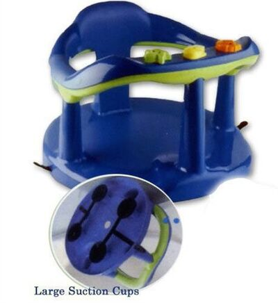 This photo provided by the U.S. Consumer Product Safety Commission shows a Thermobaby Bath Seats that is being recalled Friday, July 19, 2013, due to Drowning Hazard. (AP Photo/U.S. Consumer Product Safety Commission)