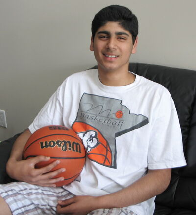 Dharmjit Dhillon will be the youngest basketball player on Team Manitoba at the Canada Summer Games.