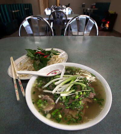 Pho Soup with beef.