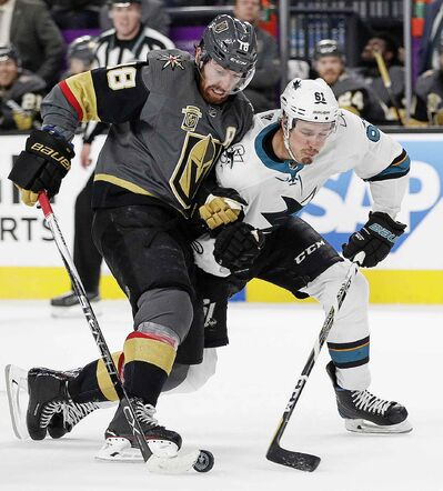 Vegas Golden Knights left wing James Neal suggests the series with the Jets could turn into a track meet.