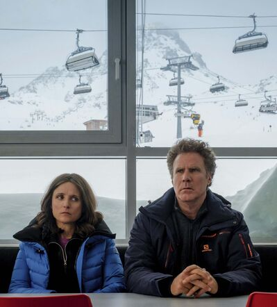 Jaap Buitendijk/Fox Searchlight </p><p>A near-death experience puts a chill on the relationship between Billie (Julia Louis-Dreyfus, left) and Pete (Will Ferrell).</p>